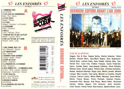 K7 - BMG France 74321703614 (Recto)