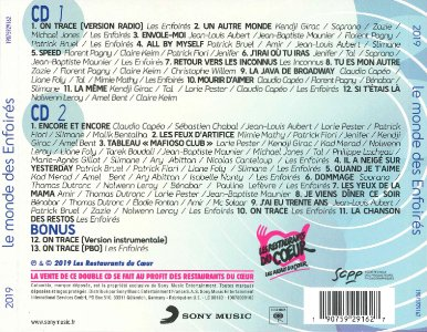 CD - Sony Music 19075929162 (Recto)