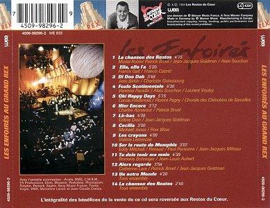 CD - WEA Music 4509-98296-2 (Recto)