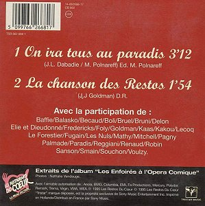 CD - Tristar Music 662 668 1 (Recto)