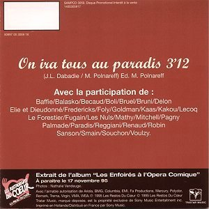 CD promo - Tristar Music 3059 (Recto)