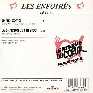 CD - BMG France 74321703602 (Recto)