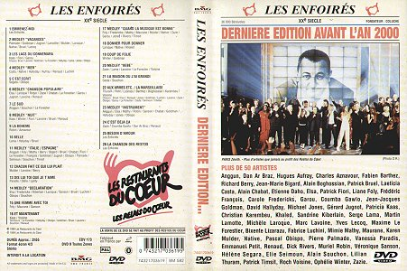 DVD - BMG France 74321703619 (Recto)