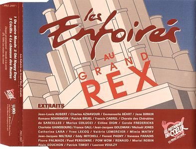 CD promo - WEA Music PRO 2067 (Recto)