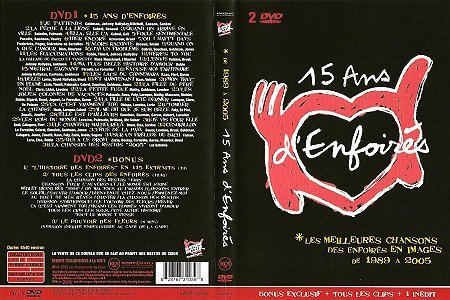 DVD 15 ans - BMG France 82876731039 (Recto)