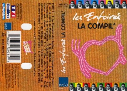 K7 La Compil' - WEA Music 0630-13978-4 (Recto)