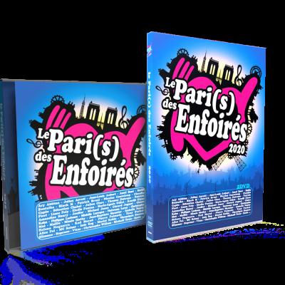 """""""2020 Le Pari(s) des Enfoirés"""" Précommandez le CD et le DVD"""